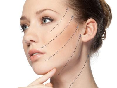 Trattamento viso con principi attivi biorivitalizzanti liftanti