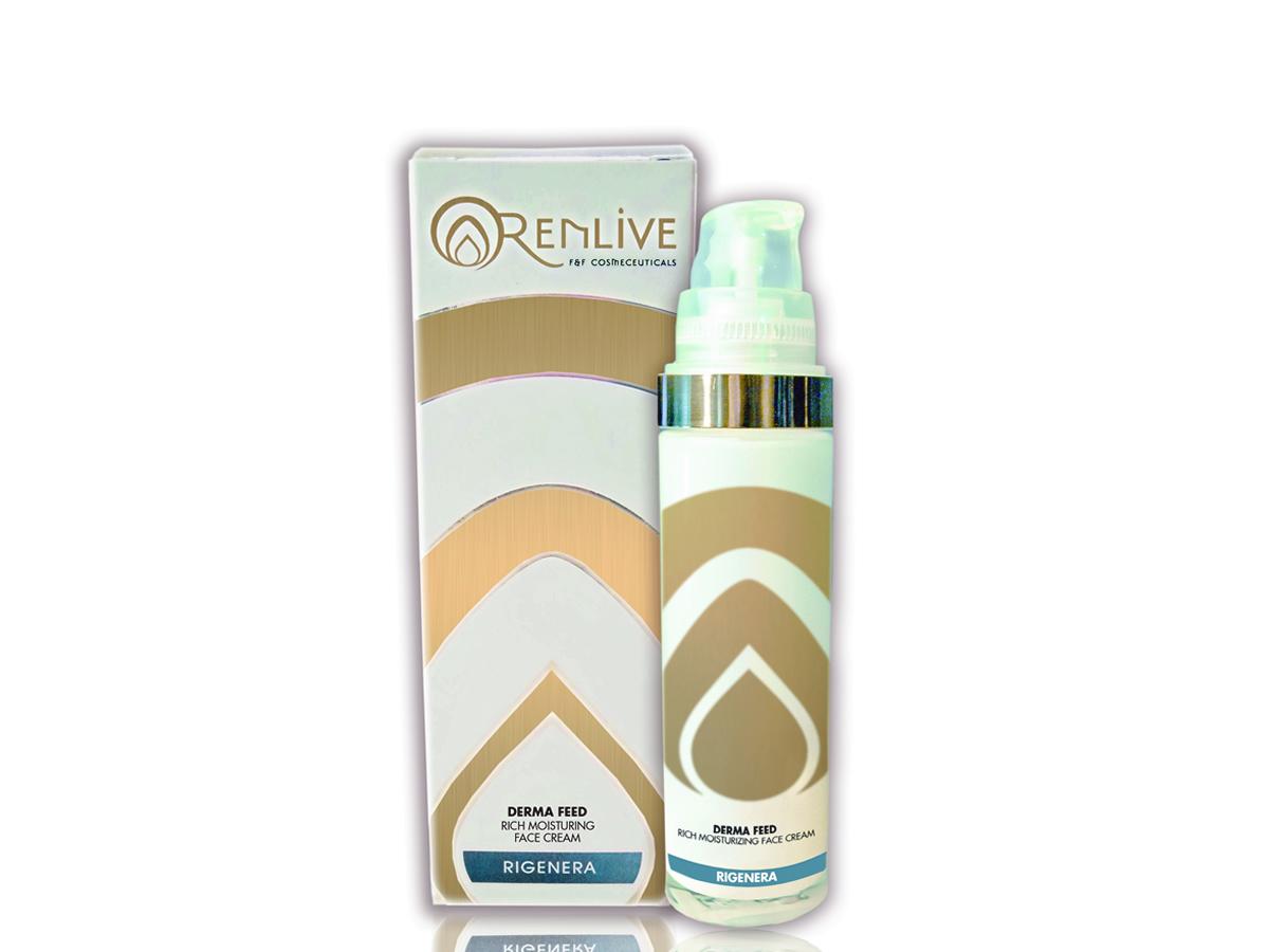Crema nutriente, idratante, protettiva, Renlive cosmetici