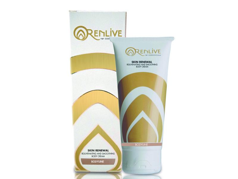 Crema esfoliante, rigenerante, Renlive cosmetici
