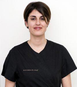 Valentina, estetista massaggiatrice