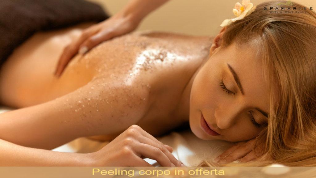 Promo peeling corpo e massaggio