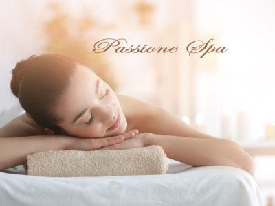 Passione Spa, percorso, scrub e massaggio